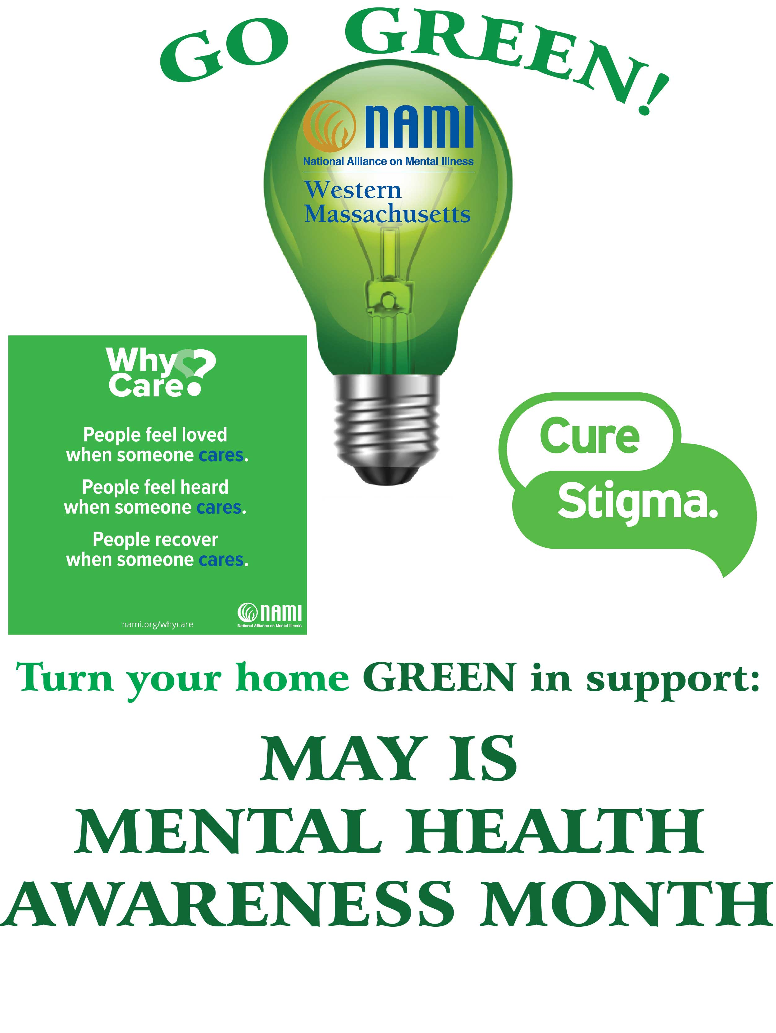Mental Health Awareness Sign webe
